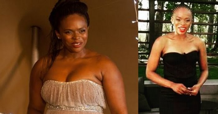 Unathi Msengana Throwback: Celebs before and after weight ...