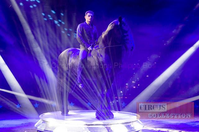 le cavalier dans la lumière