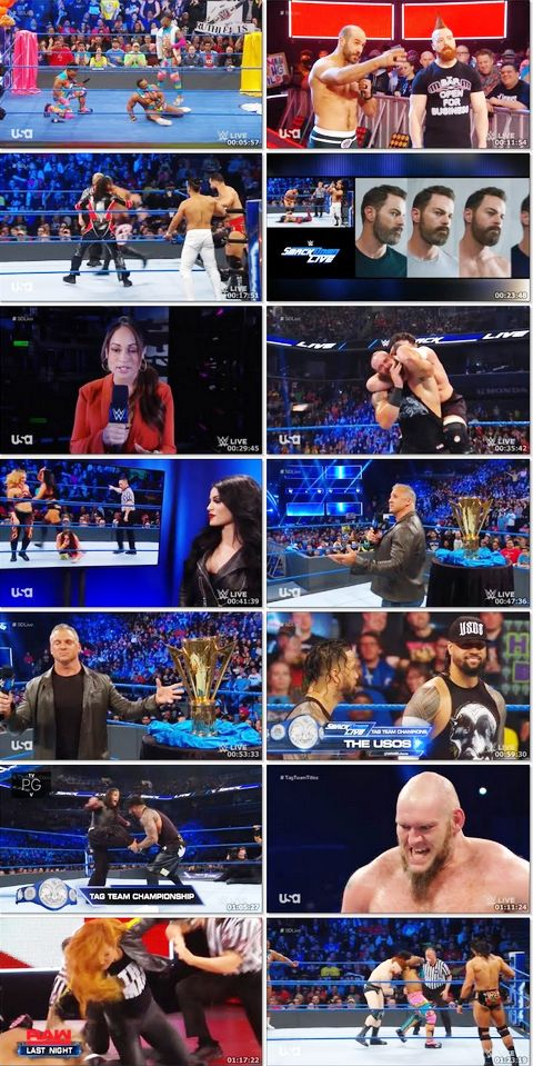 WWE Smackdown Live 09 April 2019 720p HDRip 1GB Download