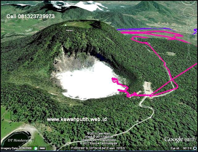 Kawah putih gunung patuha