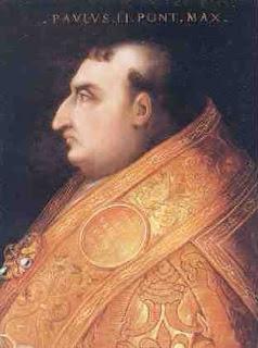 Cristofano dell'Altissimo's portrait of Pope Paul II