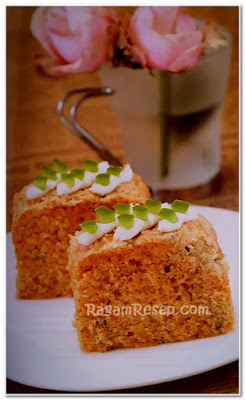 Resep roti Cake Tomat Isi Cream Cheese