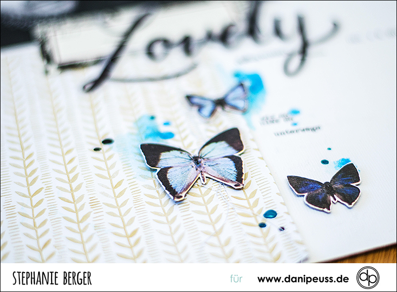 Stephanie Berger - Scrapbooking - Dani Peuss - Lovely