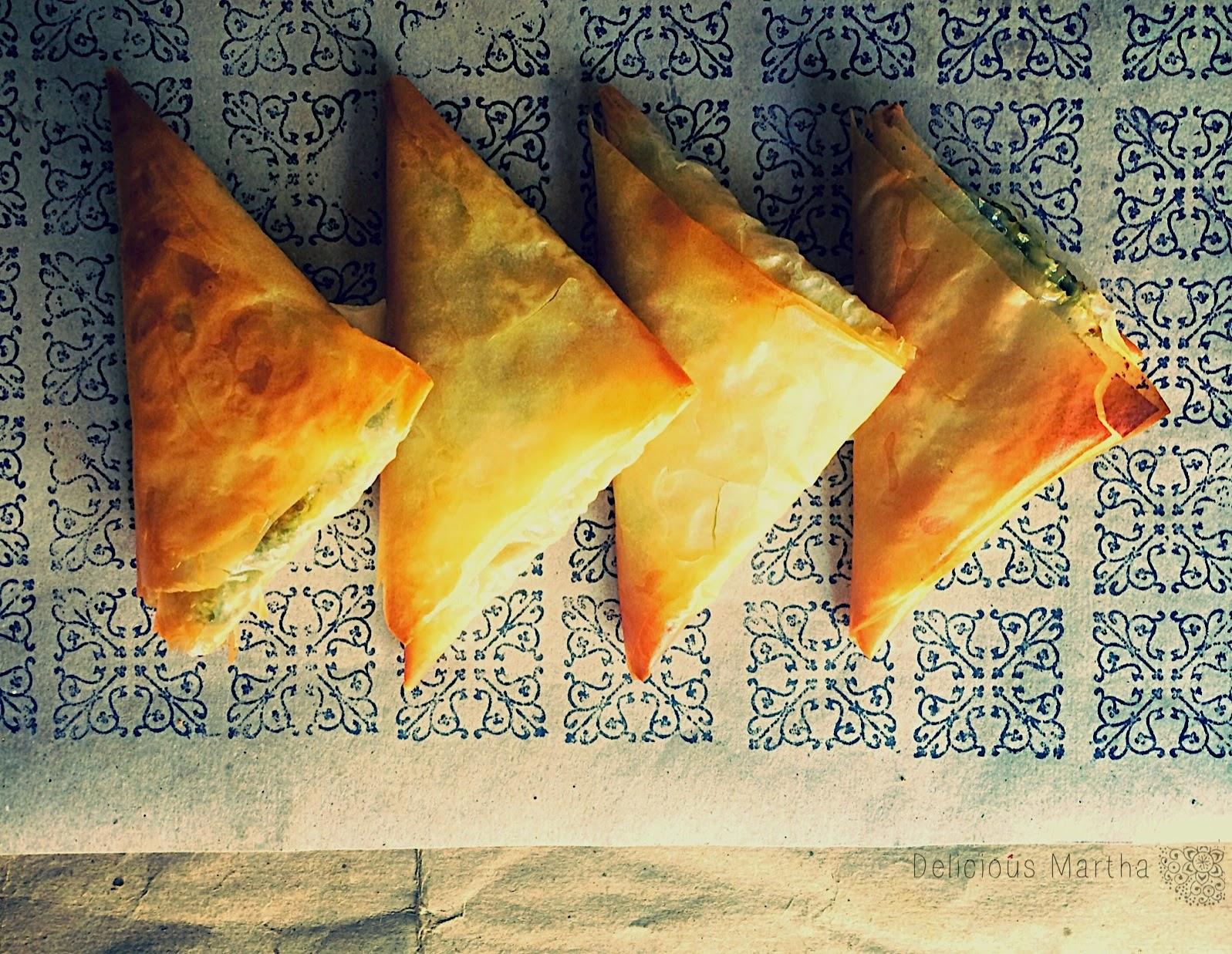 Un aperitivo en Grecia: Spanakópita