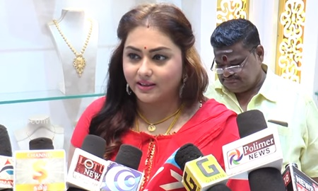 Bigg Boss Namitha On Acting, Politics and Kamal Haasan