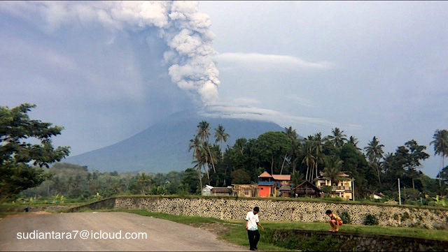 Mount Agung Eruption - Bali