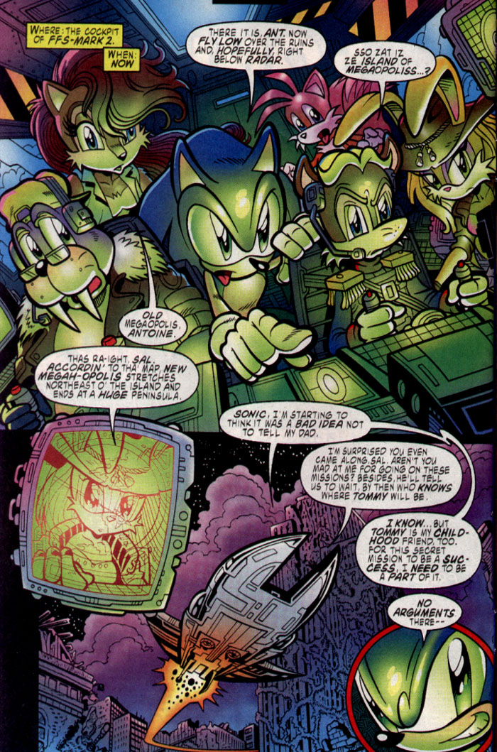 Read online Sonic The Hedgehog comic -  Issue #137 - 3