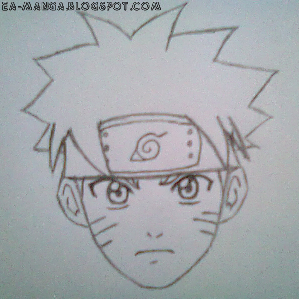 Cara Menggambar Naruto Uzumaki Manga Council – Cuitan Dokter