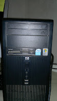 HP DX2300 (Intel Pentium Dual Core E2160 @ 1.80 Ghz, 3,24 Gb of RAM)
