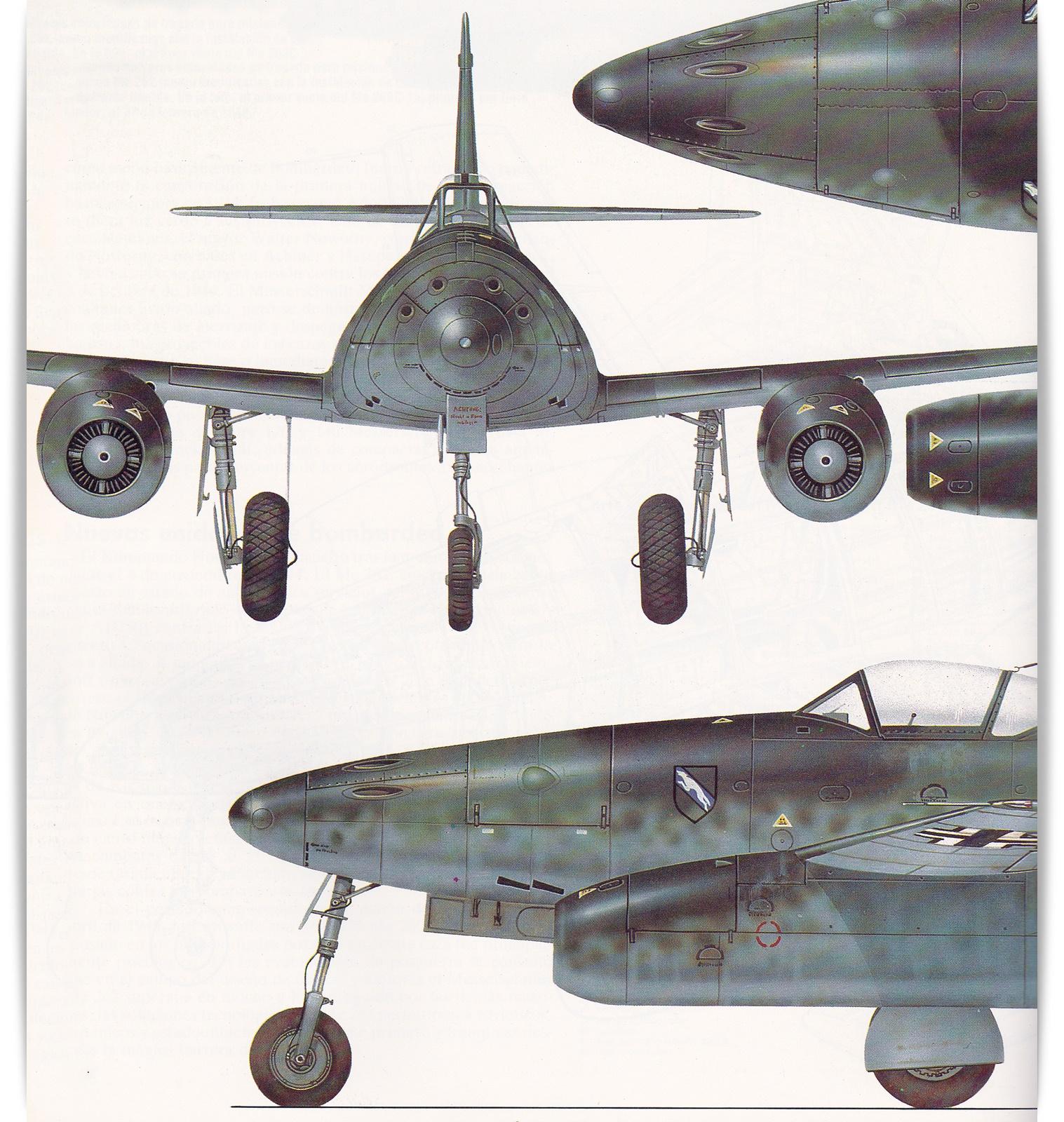 Alas Virtuales Messerschmitt Me 262