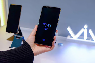Vivo launches world's first In-Display Optical Fingerprint Scanning Smartphone at CES 2018