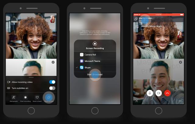 يضيف الأصدار التجريبي لسكايب القدرة على مشاركة شاشة