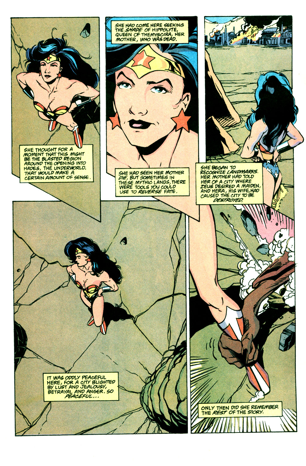 Read online Wonder Woman (1987) comic -  Issue #77 - 3
