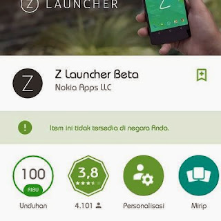 Nokia Z Launcher v1.0.5-beta