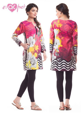 Alkaram alkaram winter kurti collection 2017