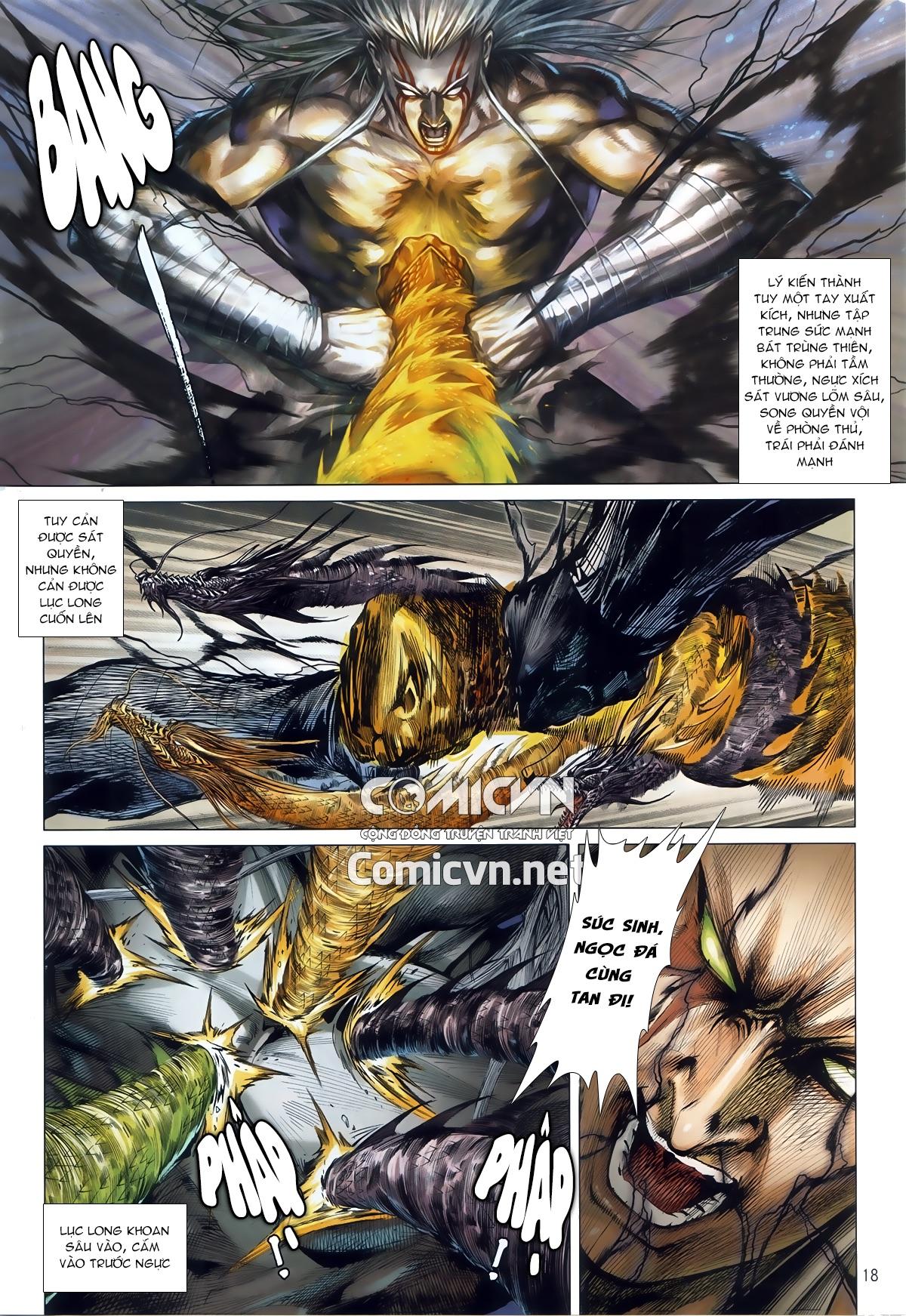 Thiết Tướng Tung Hoành chap 245 - Trang 16