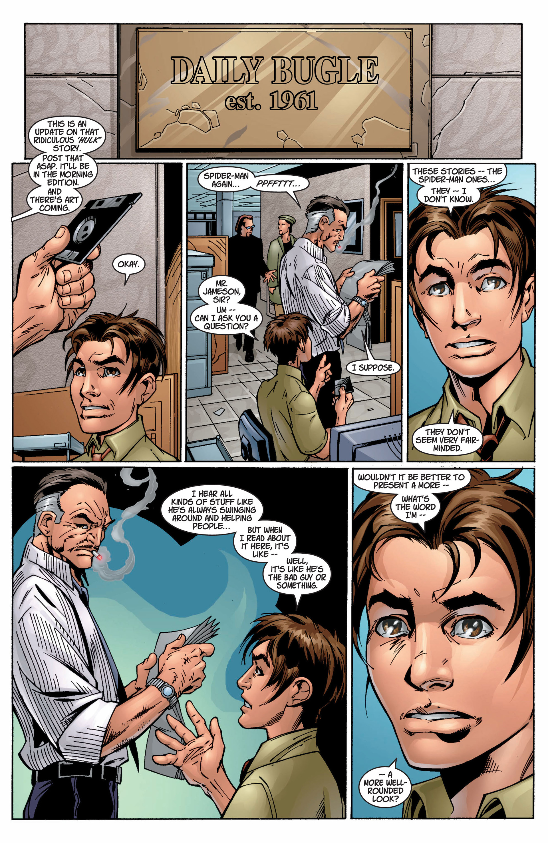 Read online Ultimate Spider-Man (2000) comic -  Issue #9 - 17