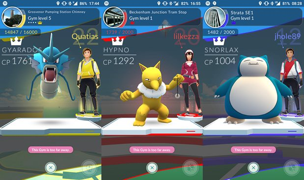 Here are the Best Gym Defenders in Pokemon GO After the Recent Update