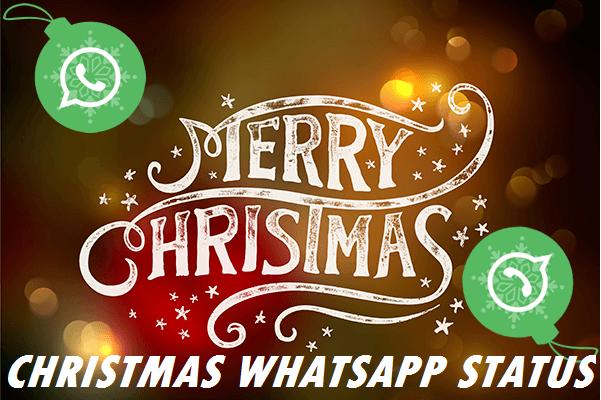 Christmas Status for WhatsApp