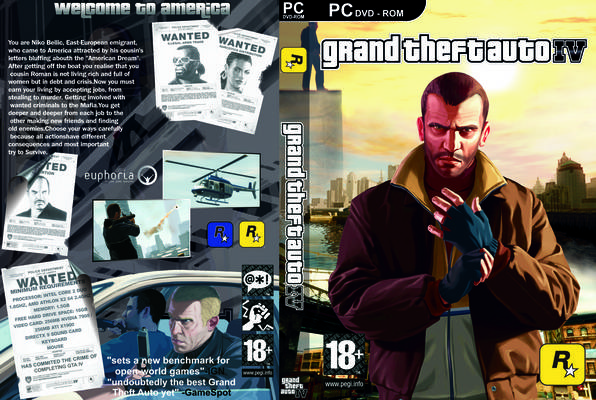 تحميل لعبة حرامي سيارات GTA IV بحجم 4 GB اصدار الاخير 2016