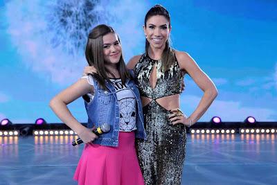 Maisa Silva e Patricia Abravanel - Crédito: Lourival Ribeiro/SBT