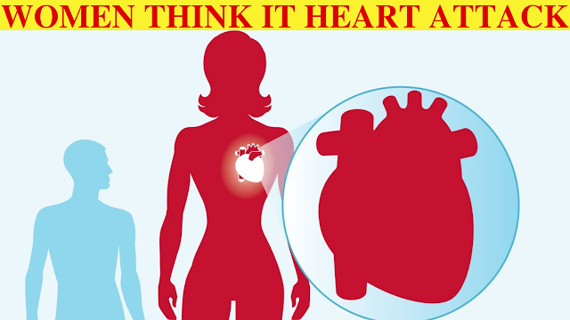 What women think a heart attack feels like