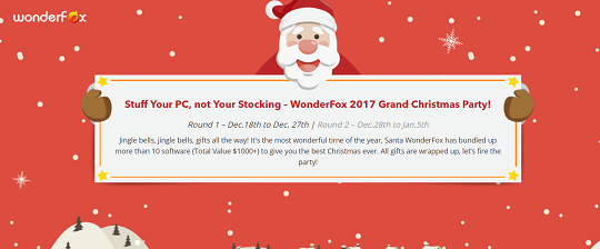GiveAway Christmas From WonderFox Soft