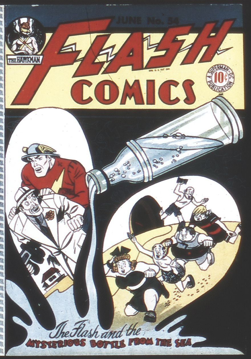Flash Comics 54 Page 1