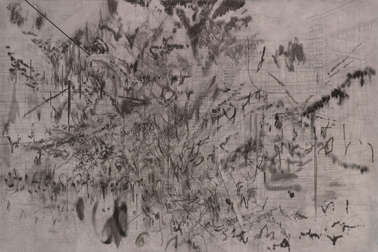 drawing Julie Mehretu Emergent