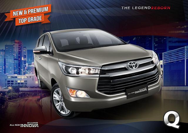 Spesifikasi All New Kijang Innova Reborn Perbedaan Veloz Dan Grand Lengkap Toyota Tipe Q
