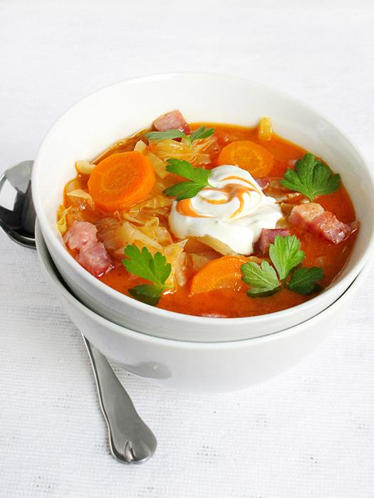 Homemade cabbage soup recipe tinascookings.blogspot.com