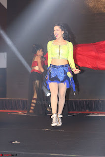 Sunny Leone Dancing on stage At Rogue Movie Audio Music Launch ~  341.JPG