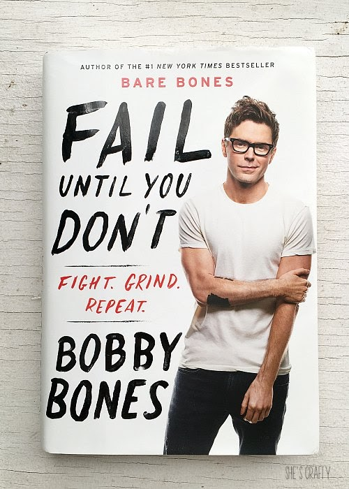 Favorite Self Help Books for Living Your Best Life - Fail Until You Don't - bobby bones