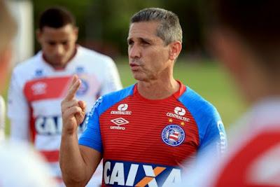 Jorginho não é mais técnico do Bahia