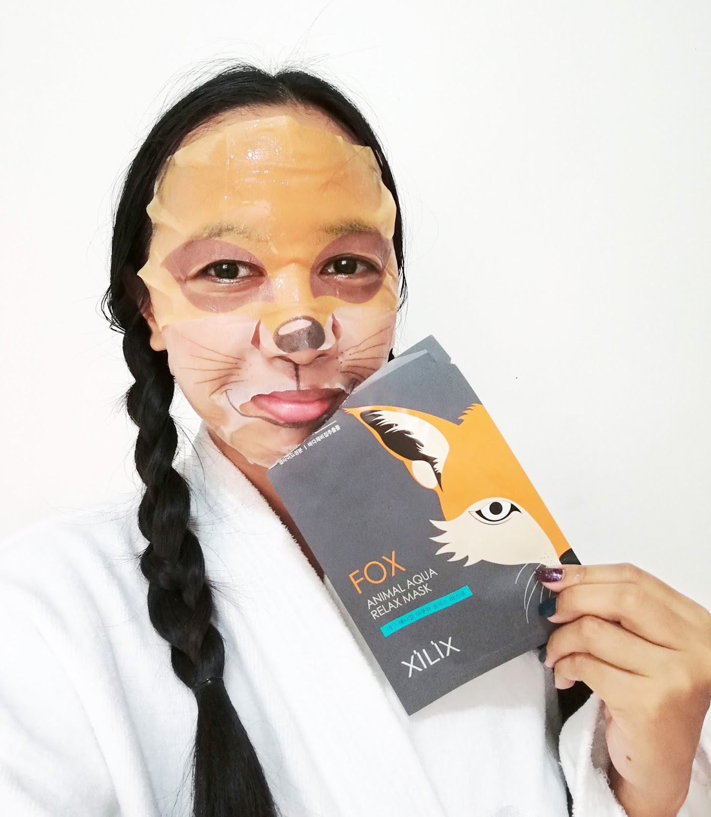 XILIX Animal Aqua face mask sheets review by Blair Villanueva
