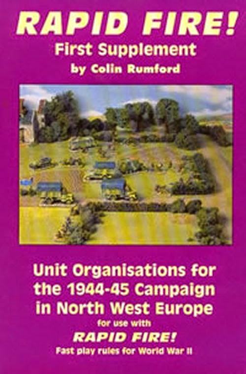 Rapid Fire Unit Organisations for the 1944-45 Campaign in North West Europe