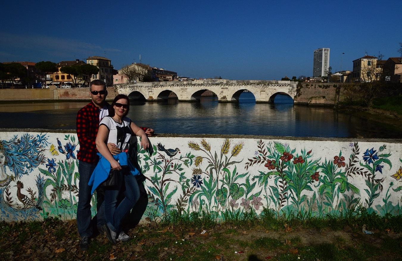 Rimini Most Tyberiusza