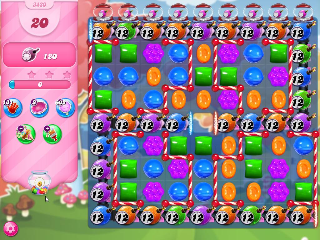 Candy Crush Saga level 3430