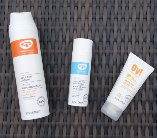 natural and organic self tanning products