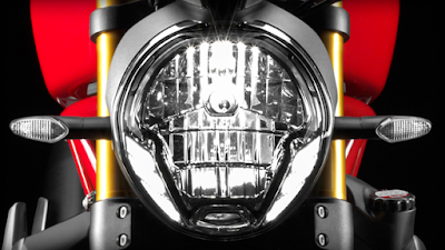 Ducati Monster 821 Headlight HD Images