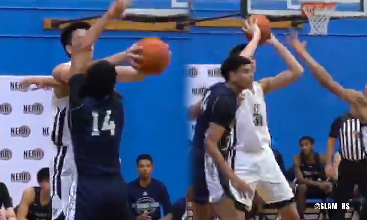 Kai Sotto Pulls Off NASTY Fake Pass Against STM (VIDEO)