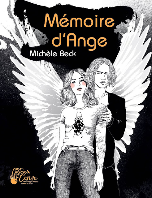 couverture Mémoire d'ange Michèle Beck les éditions le Gâteau sur la Cerise