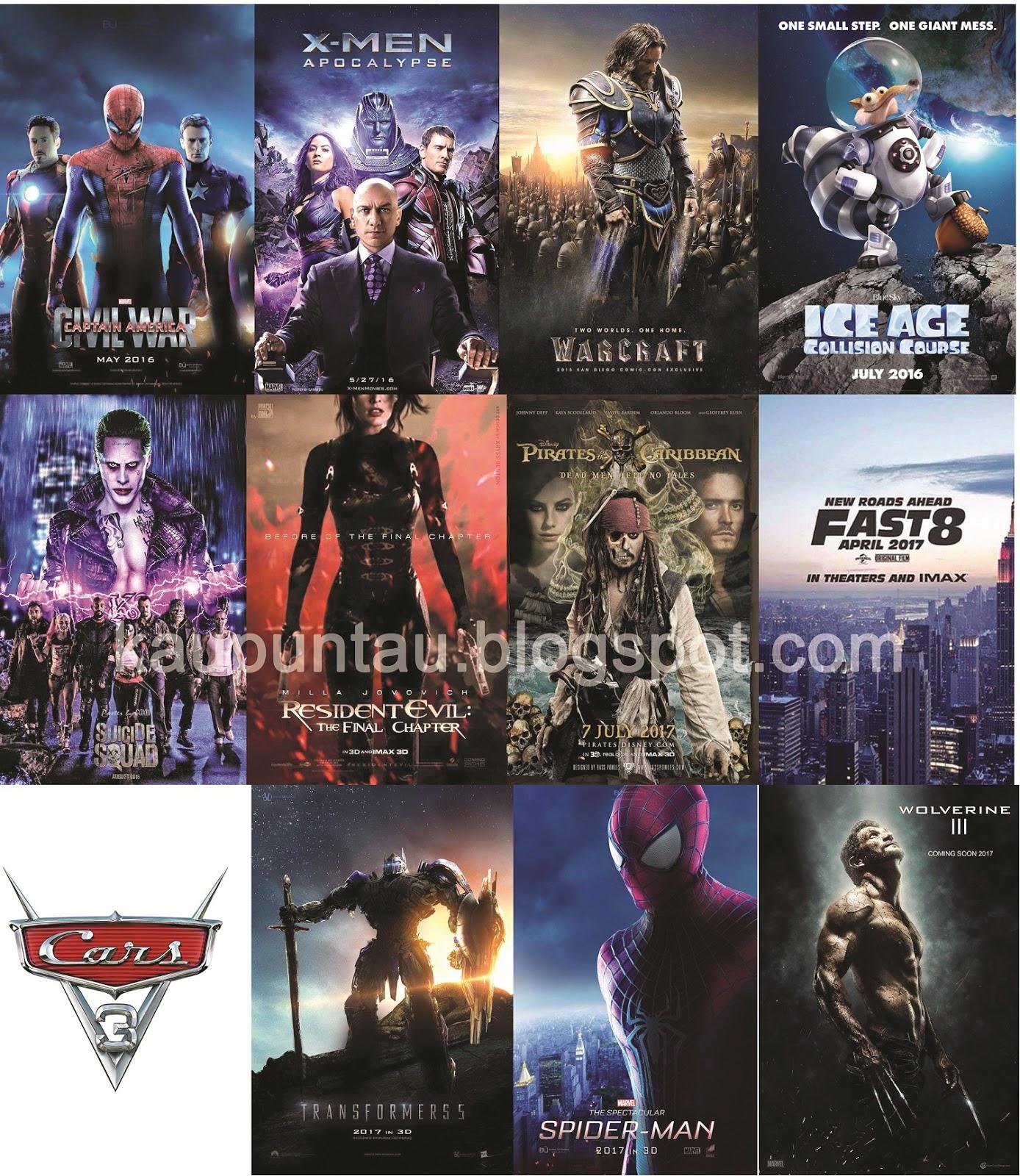 Daftar Film Hollywood Terbaru 2016 - 2017 - Kaupun Tau