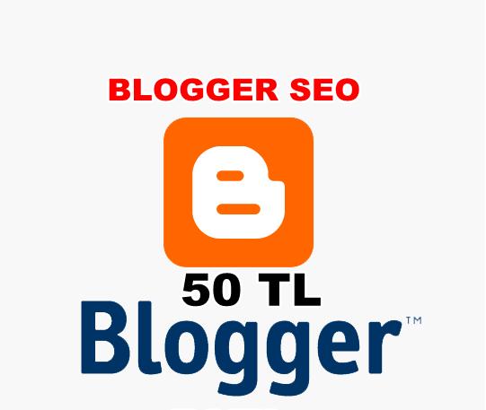 Ben, blogger tabanlı sitenizin site içi seosunu yaparım