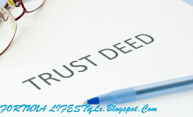 """Cara Menggunakan """"Trust Deed"""" Atau Surat Ikatan Pemegang Amanah Kepada Ahli Waris[2-Akhir]"""