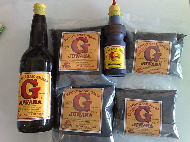Image result for kecap Gentong