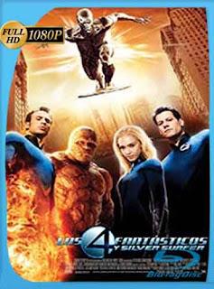 Los 4 Fantasticos 2 (2007)  HD [1080p] Latino [Mega] dizonHD