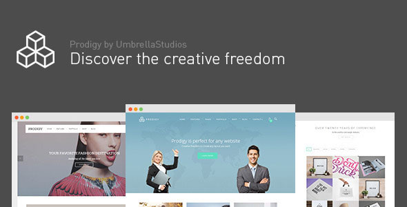 Free Download Prodigy V1.2.4 Impressive Multi-Purpose WordPress Theme