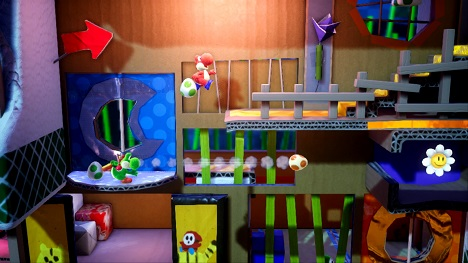 Yoshi's Crafted World - Flip Into a New Adventure