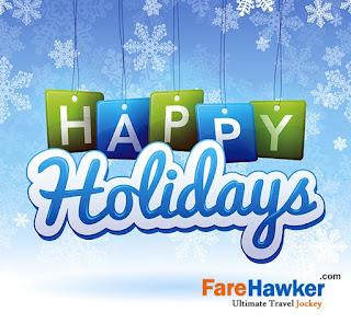 Happy Holidays with Vistara and FareHawker